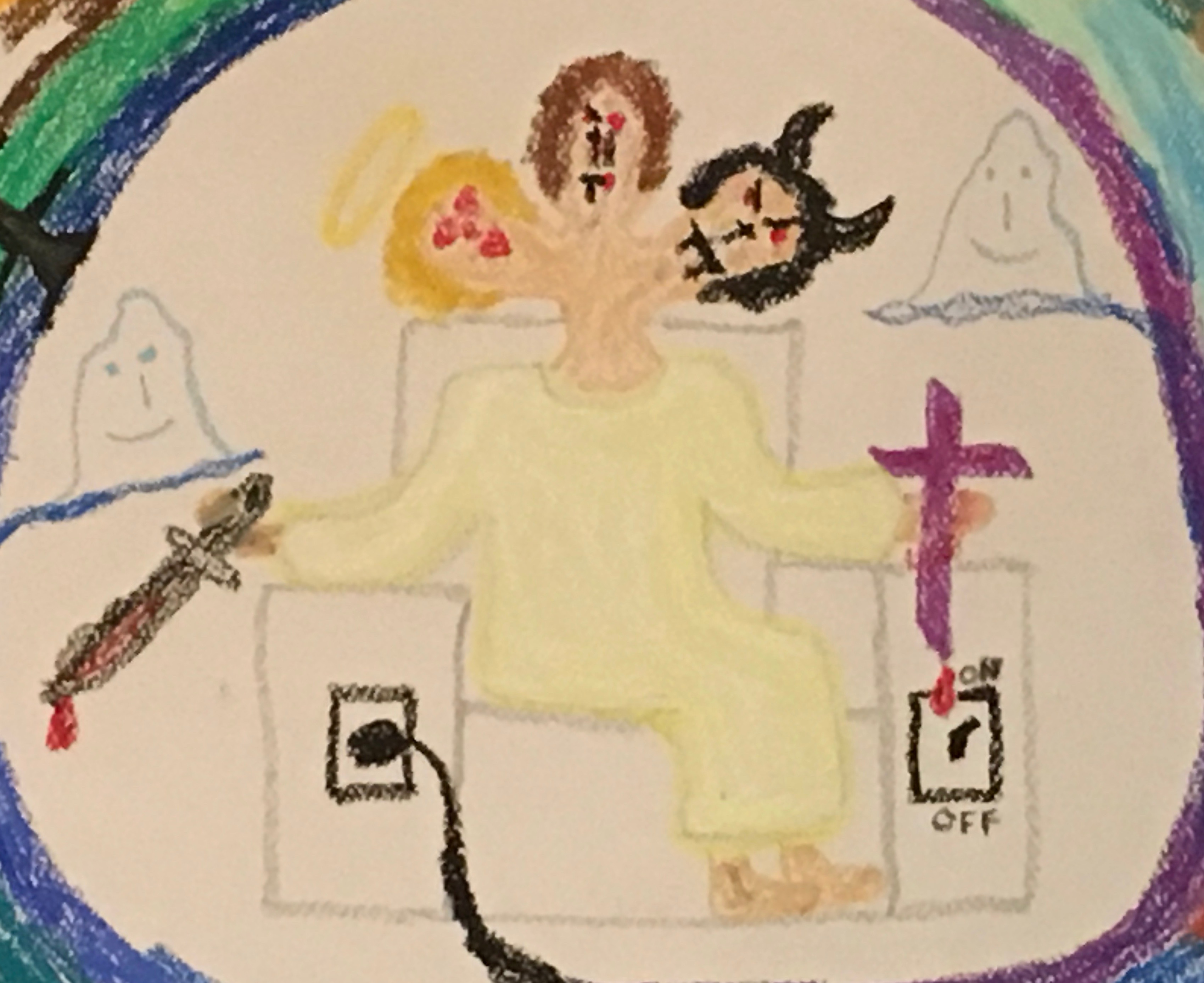 Jesus-Harry-Satan Face of Confusion